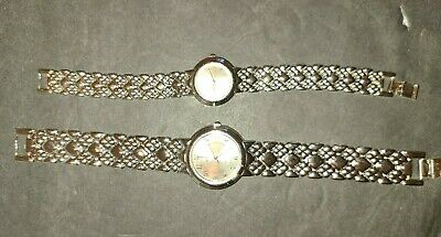 Set Of His And Hers Geniva Wrist Watches. Vintage • 7.68£