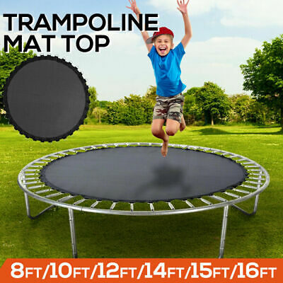 AU46.50 • Buy 8 FT Kids Trampoline Pad Replacement Mat Reinforced Outdoor Round Spring Cover