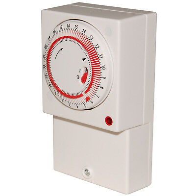 Axiom 16 Amp Mains Electro Mechanical Immersion / General Purpose Timer - IMT24H • 13.32£
