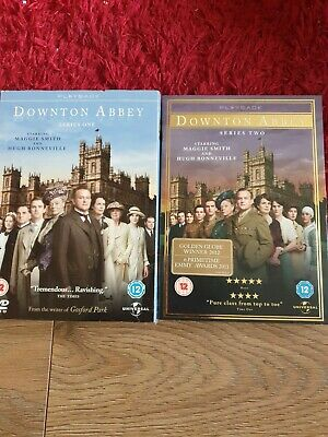 Downtown Abbey Dvd Series 1 And2 • 4£