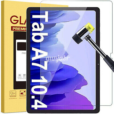£3.99 • Buy Tempered Glass Screen Protector For Samsung Galaxy Tab A7 2020 10.4 SM-T500 T505