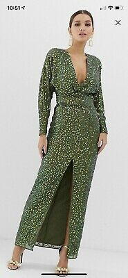 AU40 • Buy ASOS Sequin Gown Size 12