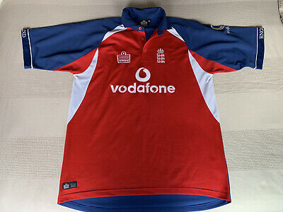 England Cricket Shirt Extra Large Admiral Vodafone Retro Vintage • 17.99£