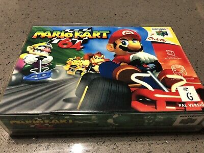AU72 • Buy Nintendo 64 N64 Mario Kart Boxed Game With Booklet & Insert - Great Condition