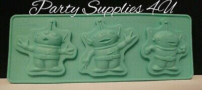 Disney Toy Story Aliens Silicone Mould. Chocolate/party/fondant/space/galaxy/ufo • 5.99£