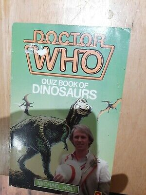 Dr Who Paperback - Quiz Book Of Dinosaurs. • 1.50£