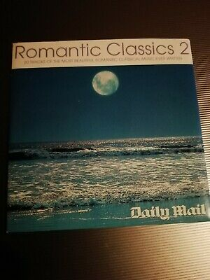 DAILY MAIL Romantic Classics 2 20 Tracks Promo Cd • 0.50£