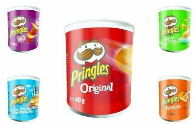 Pringles Crisps 40g Bulk - From Just 68p Each With FREE P&P • 10.99£
