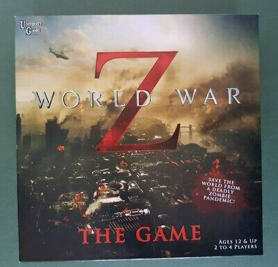 World War Z The Game - University Games 2013 Board Game - Zombie  Pandemic NEW • 21.59£