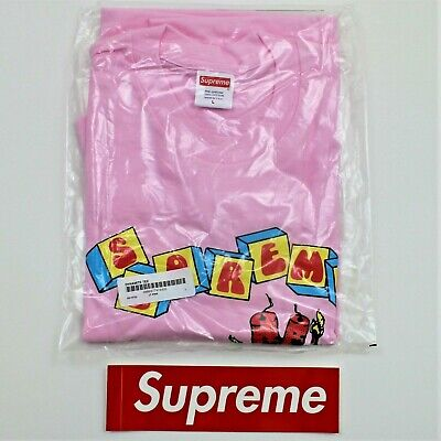 $ CDN156.80 • Buy Supreme Dynamite Tee Light Pink Graphic T-Shirt Size Large SS19