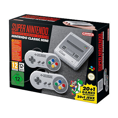 $ CDN105.72 • Buy Super Nintendo Entertainment System SNES Classic Mini Edition Games Included(EU)