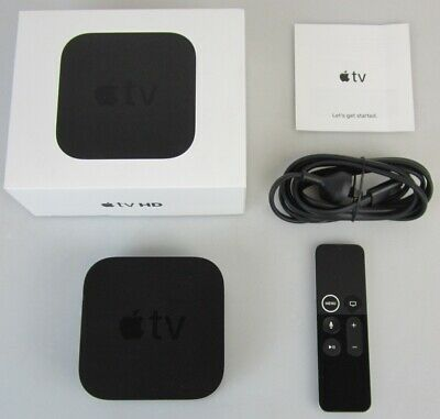 AU127.50 • Buy Apple Tv 4th Gen 32gb Hd 1080p Media Streamer - A1625 - Mr912x/a