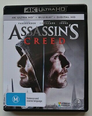AU10 • Buy Assassin's Creed 4K Ultra HD Bluray
