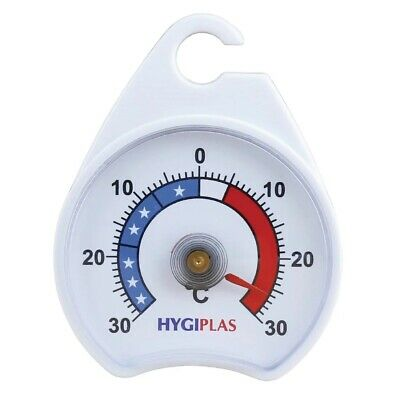 Dial Fridge/Freezer Thermometer/Kitchen Appliance - With Hanging Hook  • 3.19£