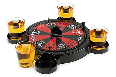 New Russian Roulette Drinking Set Game Casino Spin Adult Party Spinner Fun • 8.99£