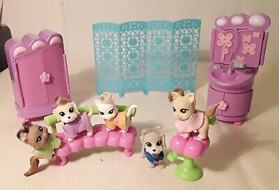 2006 Polly Pocket, Totally Trendy Pets: Paw Spa With Polly, V.G.C. Condition Use • 13£