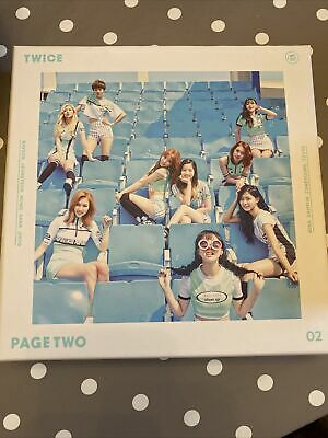 Twice Page Two Kpop Album JYP 3 Photocards And Special Sana Photocard • 15£