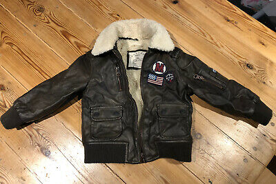 Boys Faux Leather Jacket 18-24 Months Brotes • 0.99£