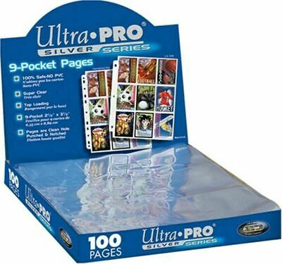 Perfect Trading Card A4 Sleeves 1 Ultra Pro 9 Pockets PLATINUM • 0.99£