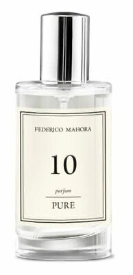 FM 10 Pure Collection Federico Mahora Perfume For Women 50ml UK • 16.99£