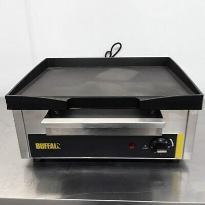 Commercial Griddle Flat Table Top Hot Plate Buffalo P108 • 144£
