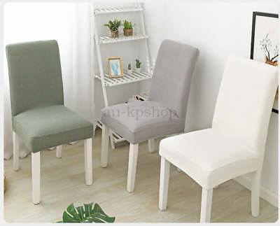 AU29.35 • Buy 1/2/4PCS Jacquard Thick Spandex Elastic Stretch Slip Cover Washable Dining Chair