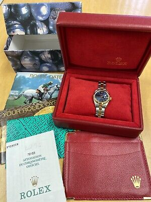 $ CDN3567.92 • Buy 100% Authentic Rolex Perpetual Oyster Datejust Women's Ladies Watch Set Complete