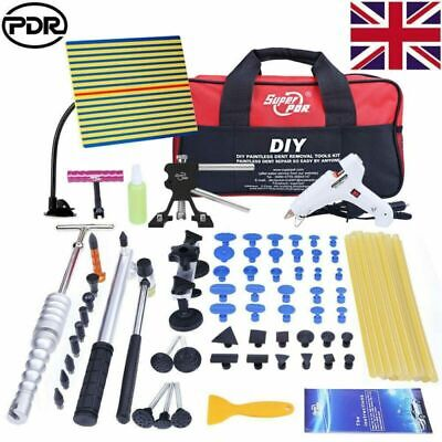 PDR Tool Kit Paintless Dent Removal Dent Lifter Puller Hammer Hail Repair Tools • 55.92£