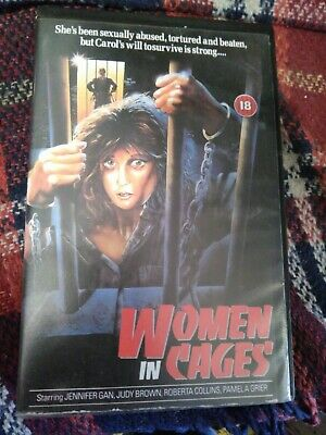 Women In Cages! Prison Exploitation, Rare Vhs Video! Look At My Other Videos! • 6.99£