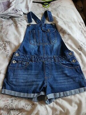 Girls Dungarees Age 12-13 • 1£