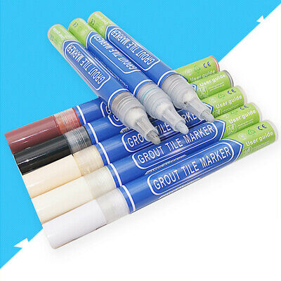 Non Toxic Grout Pen Anti Mould Waterproof Tile Repair Instant Renew Wall Refill • 2.71£