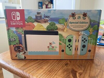 AU500 • Buy Animal Crossing Nintendo Switch Special Limited Edition Console *NEW