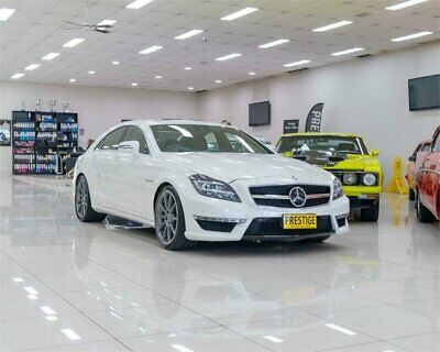 AU99990 • Buy 2013 Mercedes-Benz CLS 218 MY13 Update 63 AMG S White Automatic 7sp A Coupe