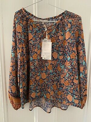 AU55 • Buy Arnhem Clothing Byron Bay Assha Blouse In Coral 6 New Tags Fit 6-8