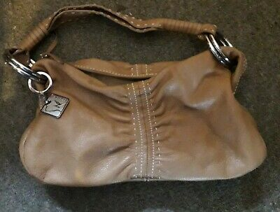 Women's Figura Tan Leather Bag • 1.50£