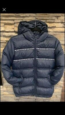 Tommy Hilfiger Designed Down Coat Girls Size 156 Navy Would Fit Around 11-14  • 20£