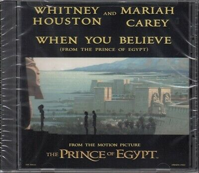 Mariah Carey - Whitney Houston - Prince Of Egypt - When You Believe - New Cd • 30£