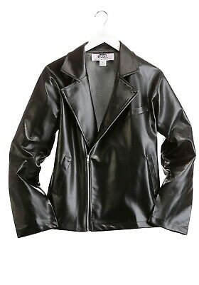 £14.63 • Buy Adult Grease T-Birds Faux-Leather Jacket Costume SIZE S (Used)