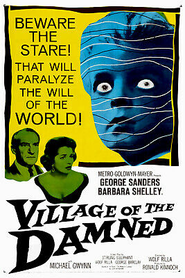 Village Of The Damned 1960 Film DVD • 3.40£