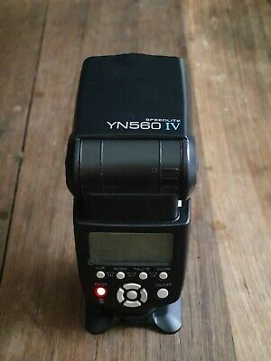 AU50 • Buy Yongnuo YN-560 IV Flash Speedlite For Canon DSLR Camera. 7 Available