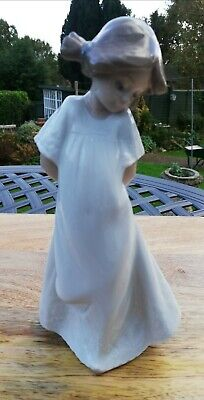 Nao By Lladro Girl With Hands Behind Back Figure Mint • 7.55£