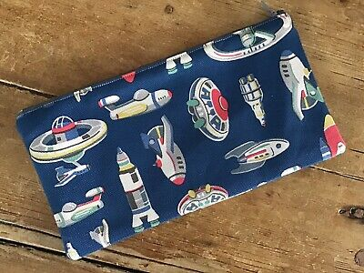 Handmade Cath Kidston Space Ships Pencil Case • 5.80£