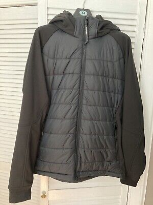 CP Company Padded Goggle Jacket Black 3XL Or 56 • 199£