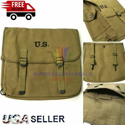 $36.99 • Buy M1936 MUSETTE JUMP BAG M36 WWII US Army Paratrooper M36 Field Backpack Haversack