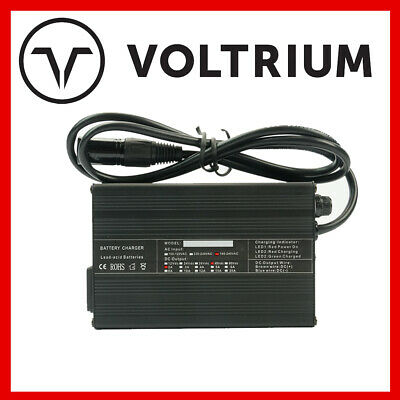AU50 • Buy New Voltrium 48v 2A Smart Lead Acid Charger For Electric Scooter - 1000w 1600w