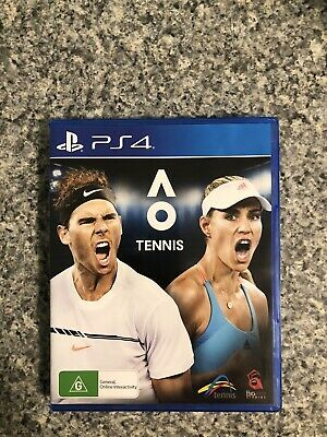 AU20 • Buy PS4 Game - AO Tennis - Preowned
