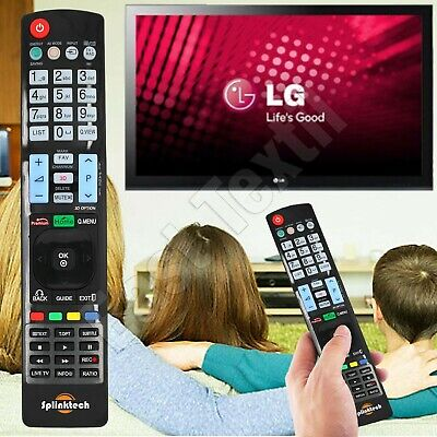 £4.10 • Buy Universal Remote Control For LG Smart 3D LED LCD HDTV TV APPS New Replacement UK