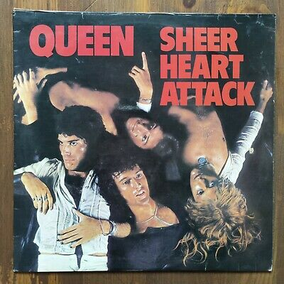 Queen Sheer Heart Attack 12  Vinyl UK 1st Pressing • 3£