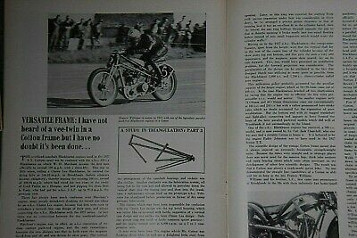 £2.49 • Buy Motorcycle Sport March 1968   The Cotton Story ,BSA,Paddy Johnson,CZ In America