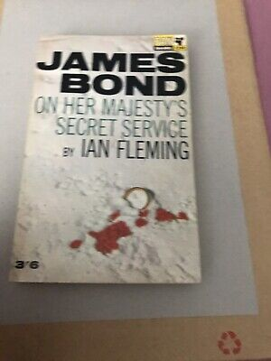 James Bond On Her Majesty's Secret Service Paperback By Ian Fleming 1965 • 5.99£